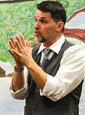 Storyteller Simon Brooks