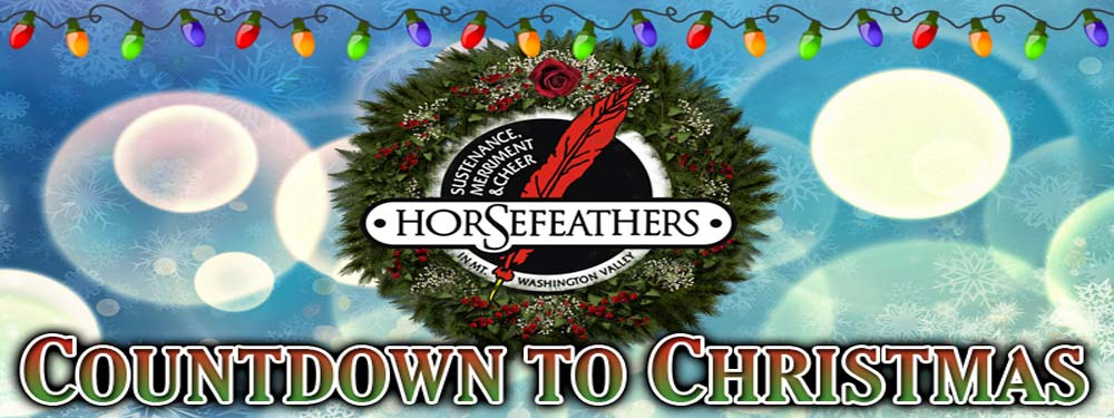 Horsefeathers Countdown to Christmas Discounted Gift Card Sale