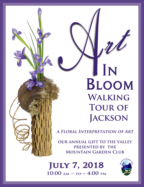 Art in Bloom: A Walking Tour in Jackson Village - July 7th