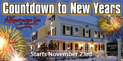 Kearsarge Inn - Countdown to New Years Gift Card Sale